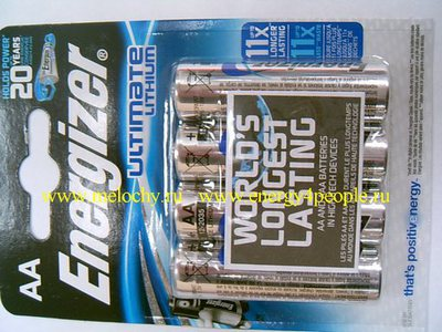 Energizer Ultimate Lithium FR6-L91 (фото, вид 1)