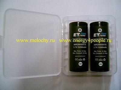 Energy Technology IMR26650VT6 (фото, вид 2)