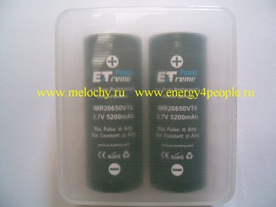 Energy Technology IMR26650VT6 (фото, вид 3)