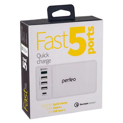 """Сетевая зарядная станция PERFEO """"FAST 5"""" (фото, вид 2)"""