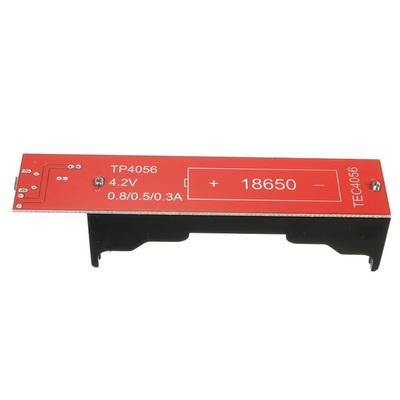 Модуль заряда TEC4056 с держателем для 18650 (фото, вид 1)