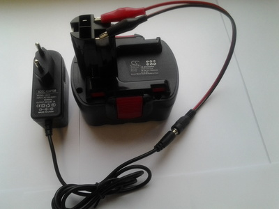 Собственное производство Кабель для заряда аккумуляторов (фото, вид 2)