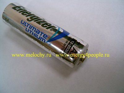 Energizer Ultimate Lithium FR6-L91 (фото)