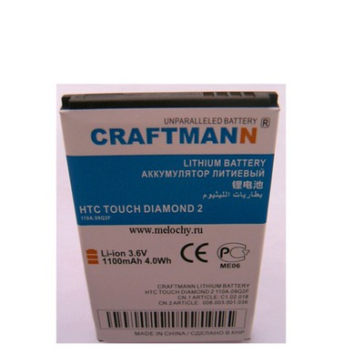 CRAFTMANN EURO HTC T5353 Touch Diamond 2 (фото)