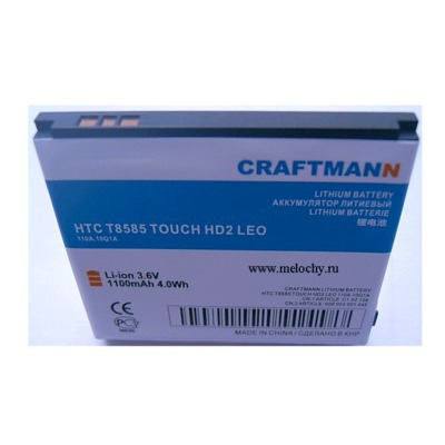 CRAFTMANN EURO HTC T8585 Touch HD2 (фото)