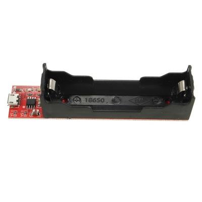 Модуль заряда TEC4056 с держателем для 18650 (фото)