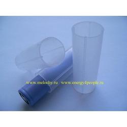 Трубка пластиковая для фиксации в фонарях и хранения аккумуляторов типа 18650