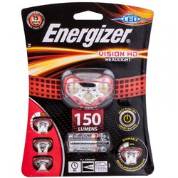 Energizer Headlight Vision HD 180LUM