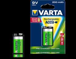 VARTA 9v-Block 200mA Ready2Use