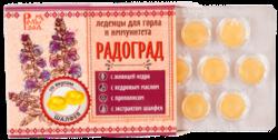 Россия Леденцы живичные «Радоград» с шалфеем без сахара в блистере