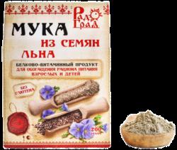 Россия Мука льняная, 200 г