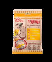 Россия Леденцы живичные «Радоград» с лимоном и медом в саше-пакете