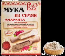 Россия Мука амарантовая цельнозерновая, 200 г