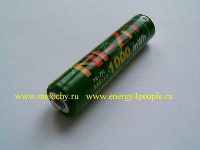 BPI AAA1000mWh Ni-Zn