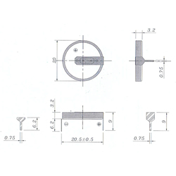 ROBITON R-CR2032HA62