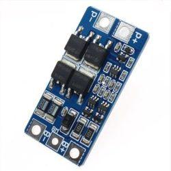 Контроллер HX-2S-JH20 V1.0 заряда-разряда для Li-ion аккумуляторов на 2 ячейки, до 20А с балансировкой